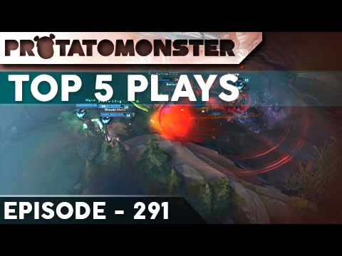League of Legends Top 5 Plays Week 291   Ft. Unkillable Maokai and Insane 1v5 Outplays