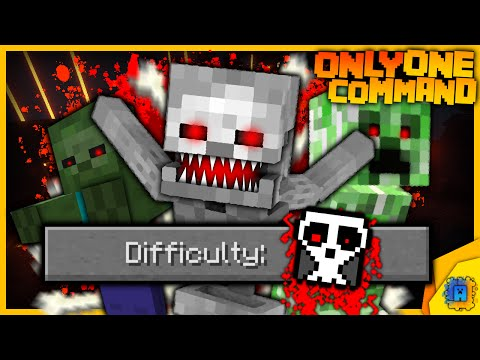how to change difficulty in minecraft to hardcore