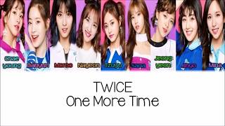 TWICE   One More Time [KanjiRomEng] Color & Picture Coded HD