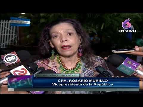 Compañera Rosario: La llama de la Libertad una vez más es la llama de la Paz