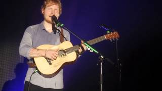 "Ed Sheeran ""New York"" New Single Live @Alcatraz Milano 20\11\2014 HD"
