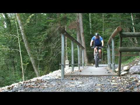 Biking around Baar, Switzerland