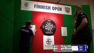 2018 Finnish Darts Open  Semi Final Koltsov vs Larsson
