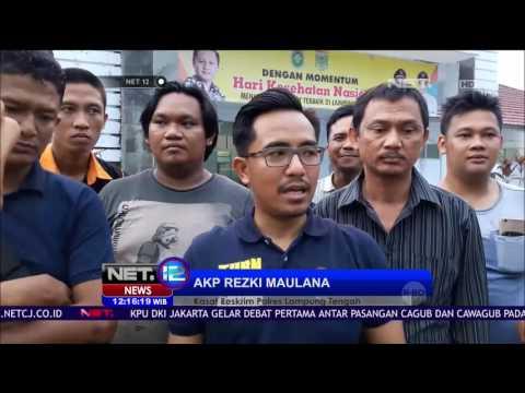 Polisi Tembak Mati Begal di Lampung Tengah - NET 12