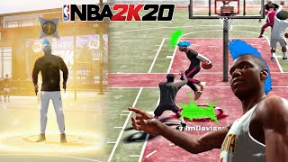 I UNLOCKED THE SECRET JELLY LAYUP IN NBA 2K20.. nba 2k20 playsharp at the park