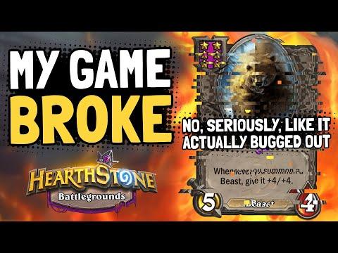 MAMA BEAR LEGIT BROKE MY GAME. Not Clickbaiting, Watch the Intro!! | Battlegrounds | Hearthstone