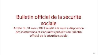 Replay Réunion actualité mai 2021 – Le bulletin officiel de la sécurité sociale