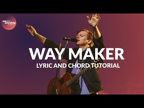 Way Maker - Youtube Tutorial Video