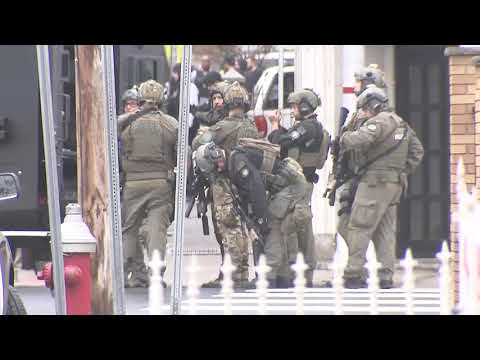 Multiple people dead in Jersey City, New Jersey mass shooting: raw video