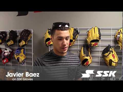 Javier Baez on SSK Baseball Gloves