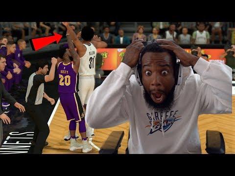 Refs Didn't Call This 3 Point Foul! NBA 2K19 MyCareer Ep 117