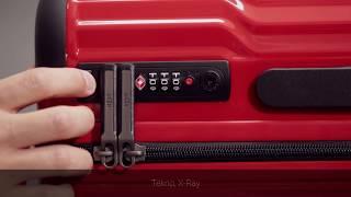 Various TSA Locks Opening Systems for Heys Luggage