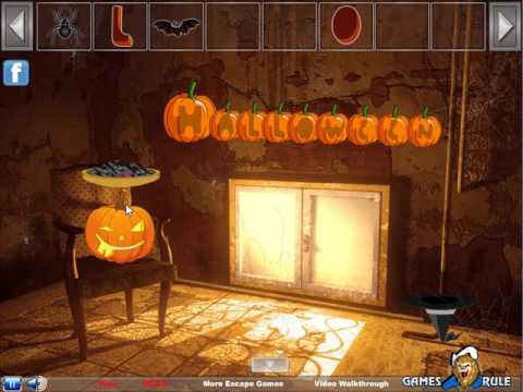 spooky halloween escape video walkthrough
