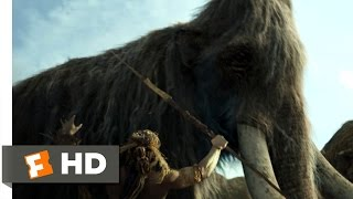 10,000 BC (1/10) Movie CLIP - The Mammoth Hunt (2008) HD