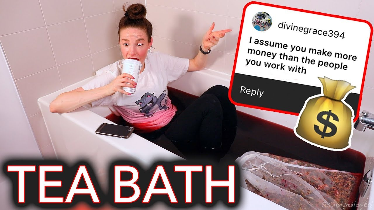 I Steep Myself in a Bath of Tea and Address the RuMoUrS About Me thumbnail