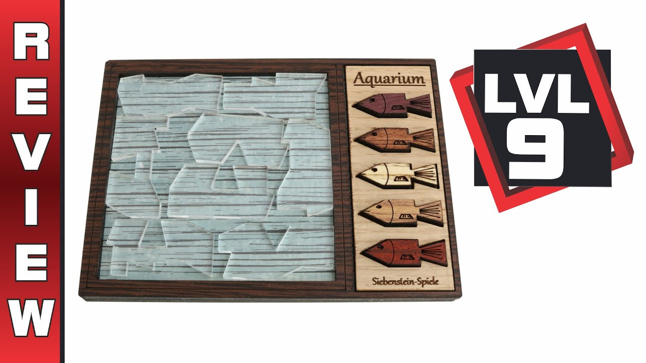 Aquarium Puzzle from Siebenstein-Spiele – Review