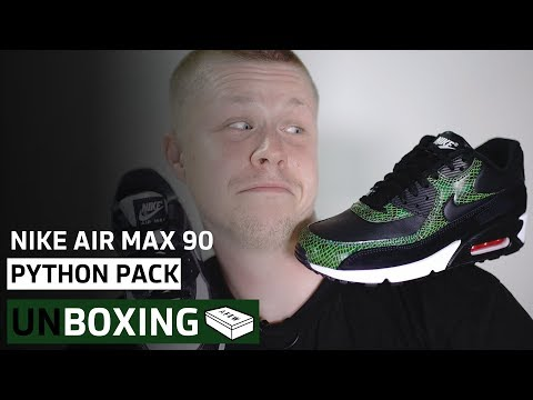 Nike Air Max 90 Python Pack | Unboxing | AFEW STORE