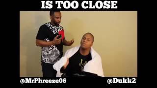 When Your Barber Too Close | SocialMediaCoke.com