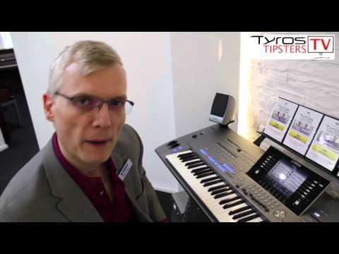 What are the 'audio' styles on Yamaha Tyros 5? - Daniel Watt shows us