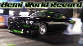 ProCharged Hemi Challenger Blasts 200+MPH Quarter Mile - World Record!
