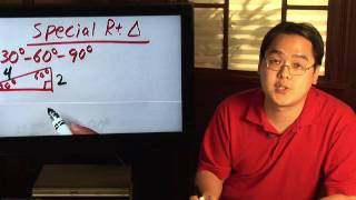 Geometry Tips : Solving Special Right Triangles