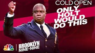 Cold Open: Holt's Halloween Heist Announcement - Brooklyn Nine-Nine