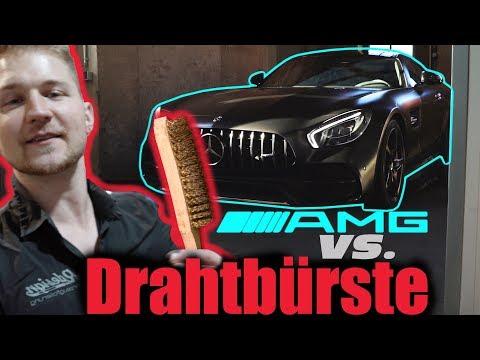 R design: Limitierter AMG GTC wird mit Drahtbürste zerkratzt!
