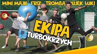 turboKRZYCH - EKIPA (MINI MAJK, FRIZ, TROMBA i WUJEK ŁUKI) | odc. 42