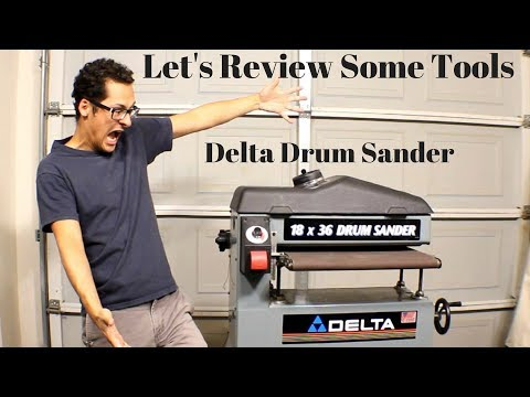 Delta 31-250 Drum Sander Review