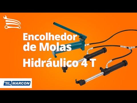 Encolhedor Hidráulico de Molas 4 Toneladas - Video