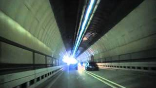 preview picture of video 'Driving Through The Kingsway Tunnel From Liverpool To Wallasey, England 2nd April 2011'