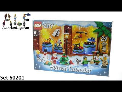 Vidéo LEGO City 60201 : Calendrier de l'Avent LEGO City 2018