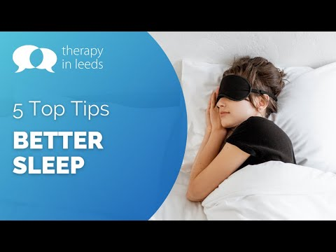 5 Top Tips for Better Sleep