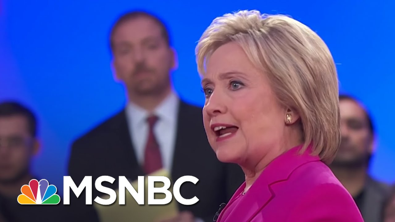 Hillary Clinton: Everyone Entitled To Same Rights, Benefits | MSNBC thumbnail
