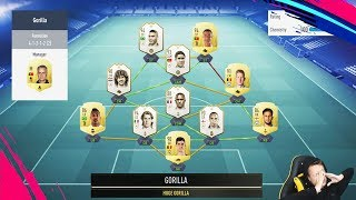 ME VS HUGE GORILLA | TOP 100 FUT CHAMPIONS HIGHLIGHTS! FIFA 19 Ultimate Team