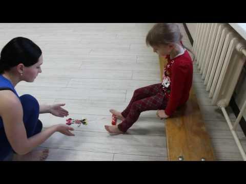 Упражнения при плоскостопии у детей.