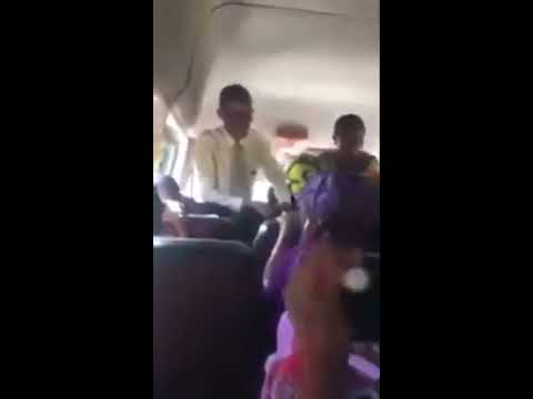 Unimaginable!!! Two pastors fight in trotro for preaching space