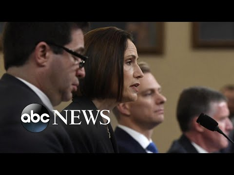 Fallout after last impeachment hearing testimony and stark warning l ABC News