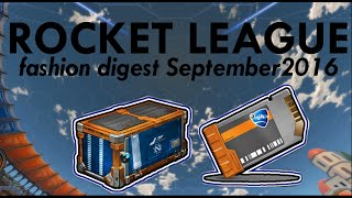 Rocket League: fashion digest 2016