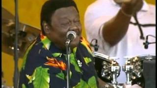 Fats Domino - Live 01- I´m Walking -.