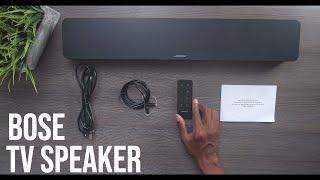 Bose TV-Lautsprecher-Mit Sound-Demo! (Modell 2020)