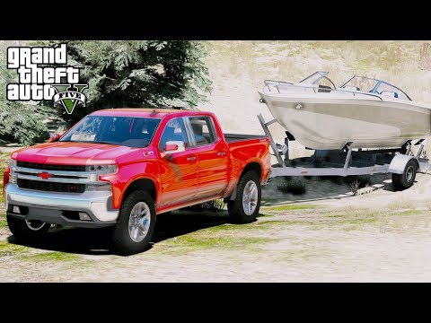 GTA 5 REAL LIFE MOD #61 -  First Look At The 2019 Chevrolet Silverado Trail Boss