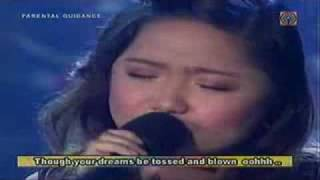 """Charice Pempengco """"You'll never walk alone"""""""