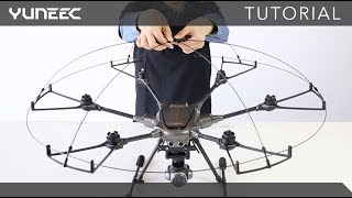 Typhoon H Plus - How to install propeller protector