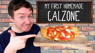 Homemade Calzone Recipe - Chicken Parmesan Calzone