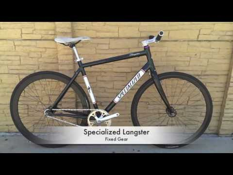 Specialized Langster Fixed Gear Track Bike