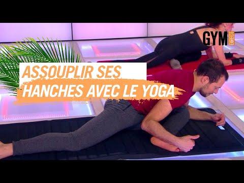 Assouplir et renforcer les hanches grâce au yoga - Gym direct