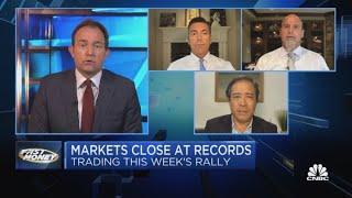 Os mercados fecham em níveis recordes à medida que os ganhos da Big Tech se aproximam