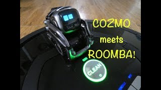 Cozmo meets Roomba