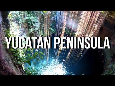 Yucatán Peninsula – Cenote Ik-Kil, Chichen Itzá, Coba,